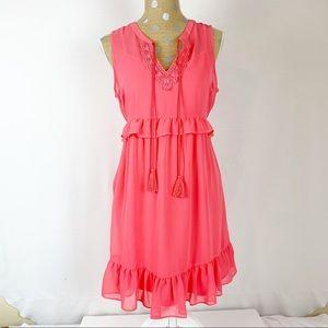 NWOT Motherhood Maternity Dress Pink Sz Small
